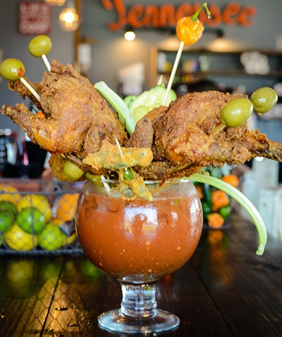 Food Network Hot Chicken And Bloody Mary Party Fowl