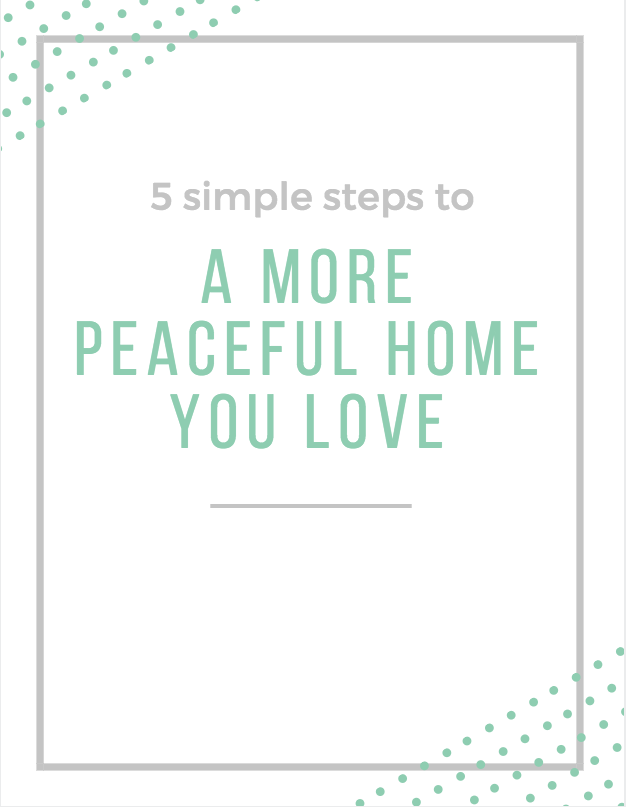 Get your instant download of the printable top tips to kickstart your journey toward a more peaceful home! - And don't forget to check your email inbox (and maybe spam folder) for the audio series!