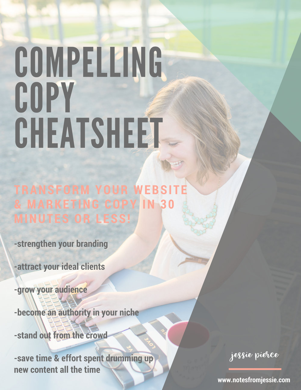 Get your instant download of the printable guide for creating compelling copy that converts! - And don't forget to check your email inbox (and maybe spam folder) for more encouragement to create a life and business you love!