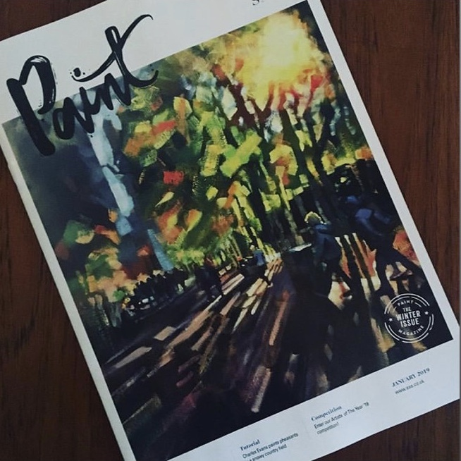 Front Cover of 'Paint' Magazine - January 2019 issue…