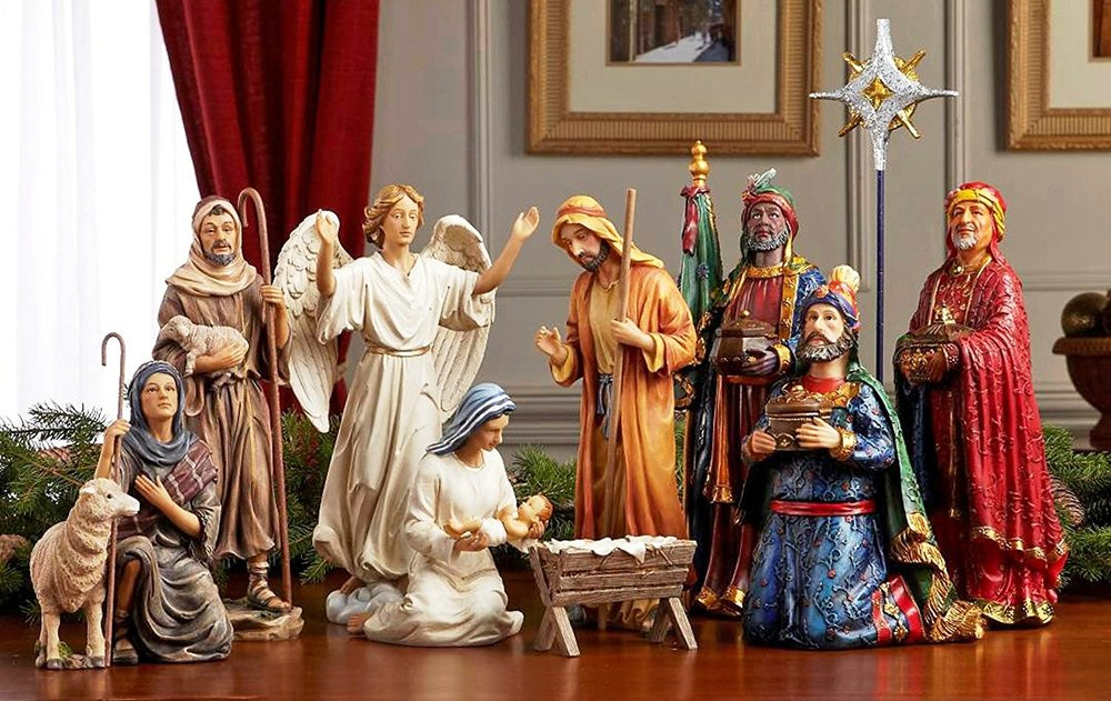 Nativity & Village Scenes
