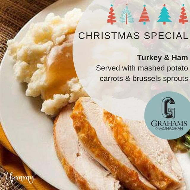 Look what's on the menu today...⠀ ⠀ Turkey & Ham Dinner... and so it begins 🦃🎄⠀ ⠀ #christmasdinner