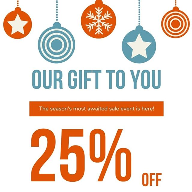 👉 Christmas Shop 👉 Home & Gift  Now 25% OFF!!! #ourgifttoyou #christmasshopopen #christmassale
