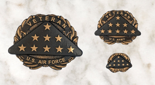 Bronze Medallions - Availabe in 3 sizesLarge (6.3/8