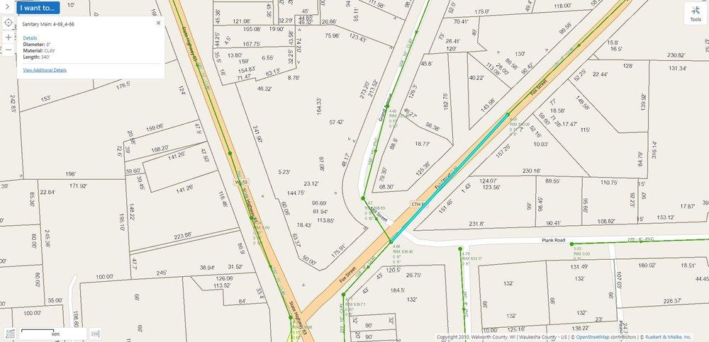 CCTV Utility Map