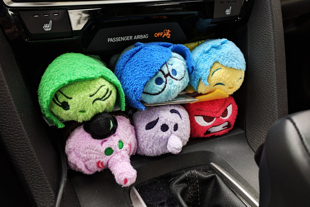 Inside Out Tsum Tsum Photo by Elsie Chang. All Rights Reserved.