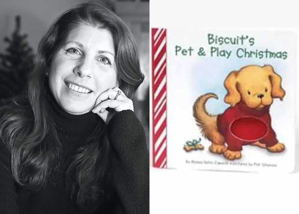 'Biscuits Pet & Play Christmas' signed by Alyssa Capucilli