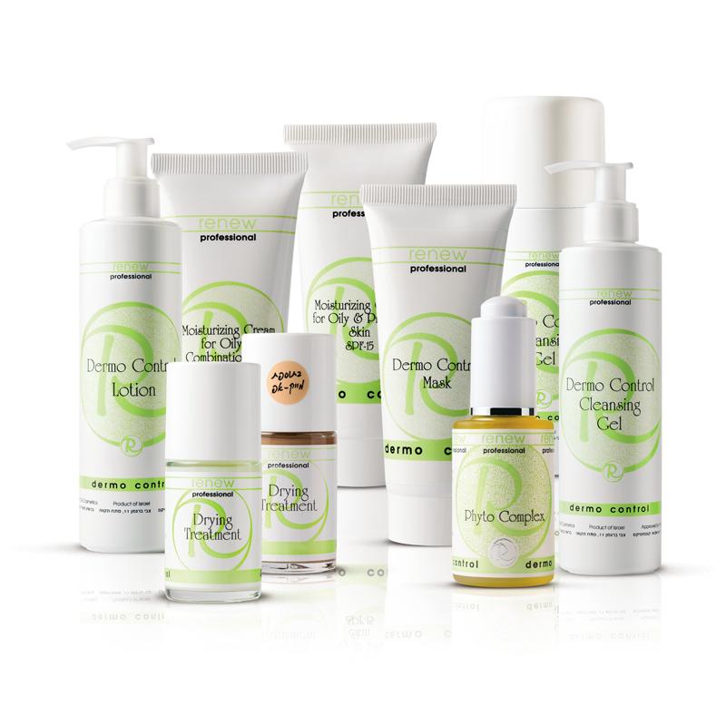 DERMO CONTROL - SARJA - Tämä sarja on suunniteltu ehkäisemään ja korjaamaan rasvaisen ja akneen taipuvaisen ihon ongelmia. Se kiinteyttää ihokudosta ja estää tulehduksen aiheuttavien bakteerien toimintaa. DERMO CONTROLsisältää antiseptisiä ja ihoa rauhoittavia aineita, jotka vähentävät talirauhasten toimintaa, palauttavat ihon omat suojaominaisuudet ja auttavat puhdistamaan ihohuokosia talinerityksestä. Näkyvä tulos saavutetaan lyhyessä ajassa.Hoidon hinta: 60€