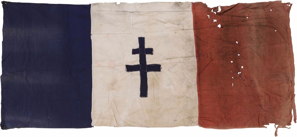 Fig. 3 Cross of Loraine (WWII, France)