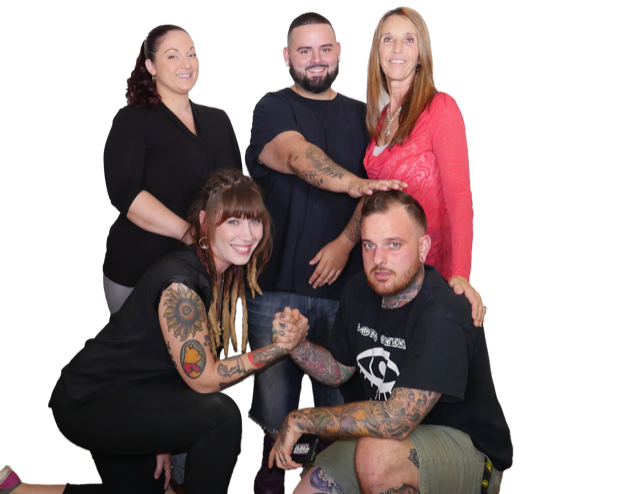 Rebel Recovery's Peer Support staff.