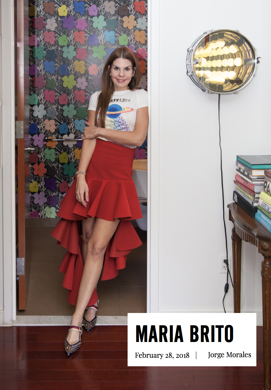 Interview with Art Curator to the stars Maria Brito