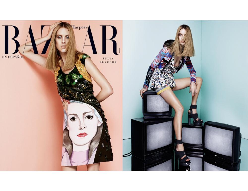 Julia Frauche - Harper's Bazaar Latin America