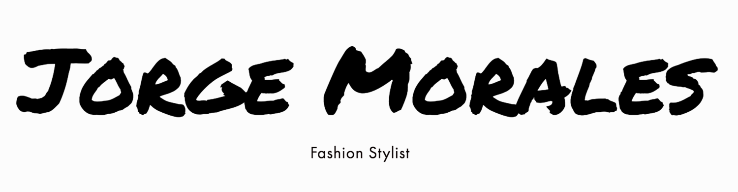 Jorge Morales - Fashion Stylist