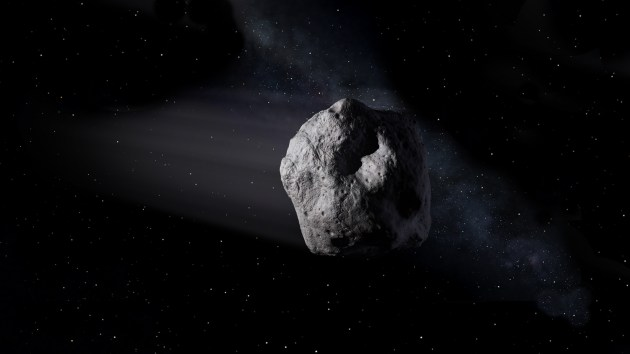 Artist's concept of a near-Earth object. Image credit: NASA/JPL-Caltech