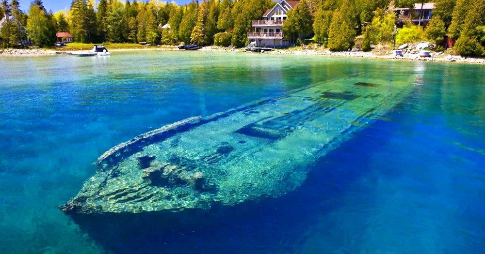 「这是一个通灵的历史世界,遇见花瓶岛的沉船」多伦多夏天潜水季7,8,9月花瓶岛潜水团召集! - 具体行程详情请+教练微信65001306咨询