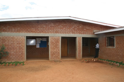 This building was built using Hydraform bricks.