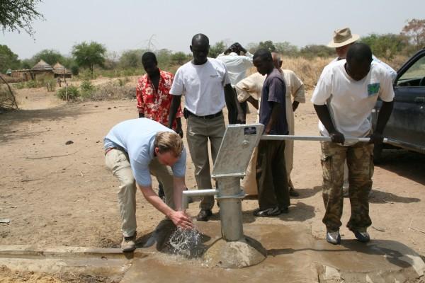 Jason at a well