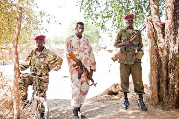 Soldiers in South Sudan are aware of the potential for violence during April's elections.