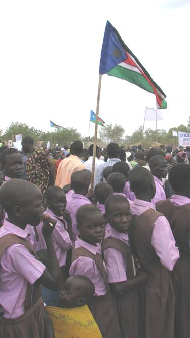 These children are the first generation of Southern Sudanese in recent history with a chance to have a normal childhood.