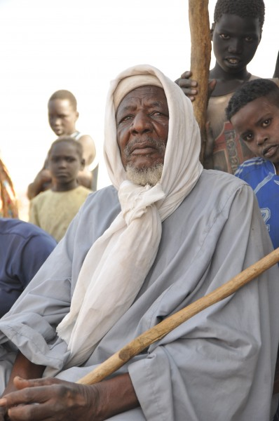 A village elder in Southern Darfur.