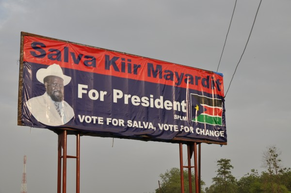 Elections in Southern Sudan look a lot like they do in America.