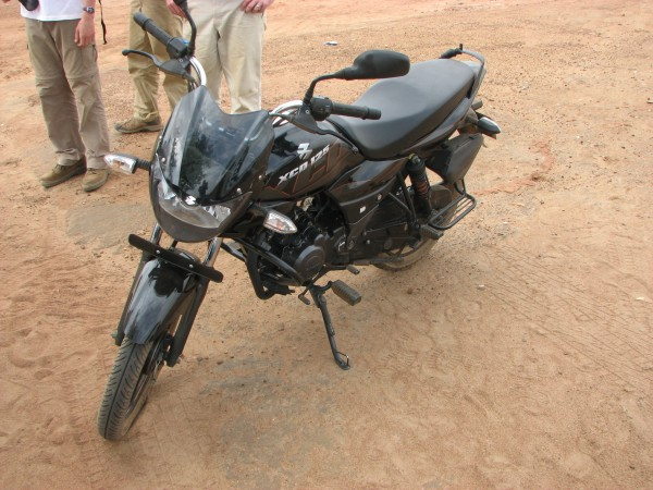 One of the motorbikes distributed last year by PPF to pastors in S. Sudan.