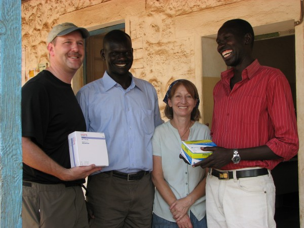 PPF delivers medicines to Torit State Hospital.