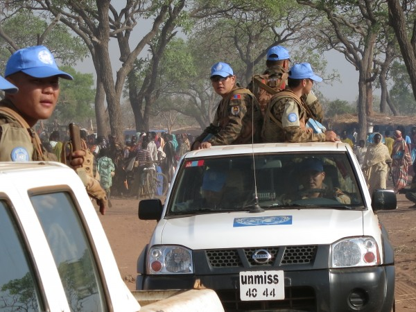 UN Troops in Yida