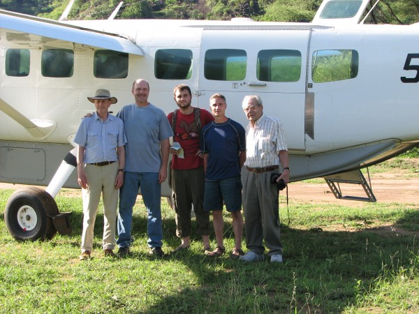 Brent A. (middle) with PPF team in Lohutuk.
