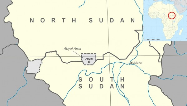 Map of Abyei