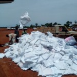 Relief aid delivered to Nuba refugees