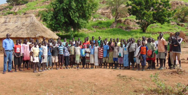 A school in the Nuba Mountains supported by PPF.