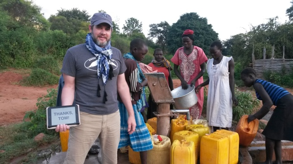 Matt Chancey in South Sudan