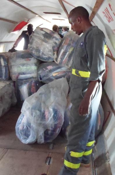 cargo on plane - 1