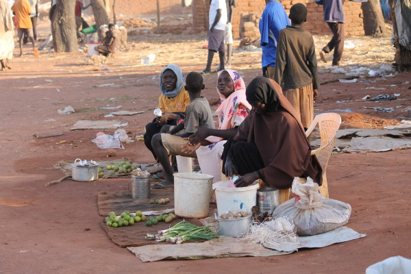 Marketplaces are often targeted by the North Sudan government