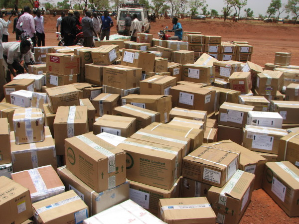 PPF has delivered 22 metric tons of medicine to the Nuba in 2015.