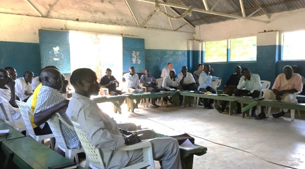 South and North Sudanese pastors learning how Christian media can be advanced through technology