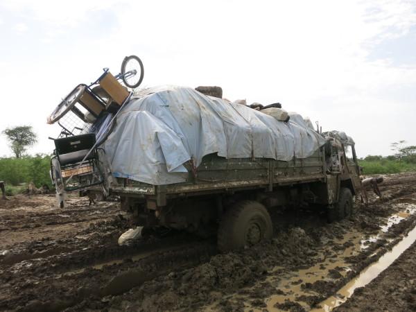 T & L muddy roads
