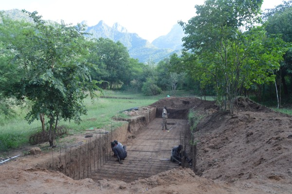 Foundation being laid for JLTC's auditorium and conference center