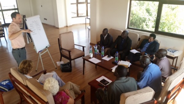 Wycliffe leaders prepare six Lopit pastors for the task of Bible translation