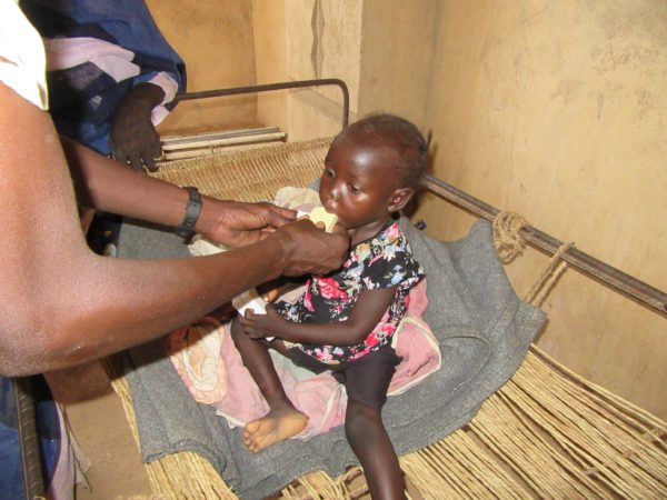 Feeding severely malnourished children