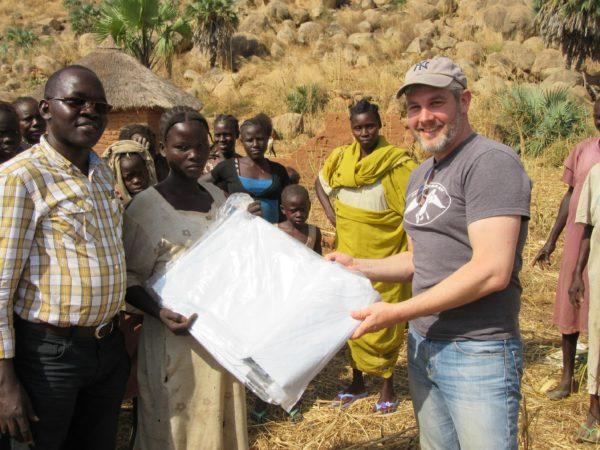 Providing Tarps to IDPs