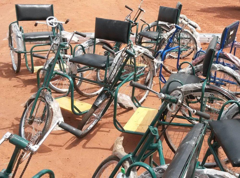 Wheelchair bikes delivered.jpg