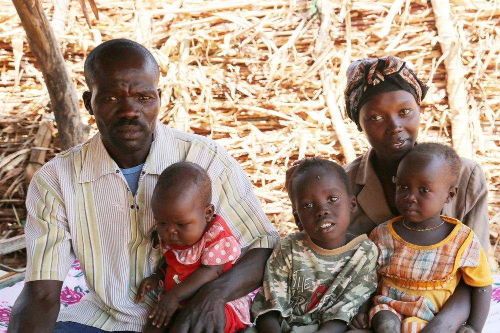 Medina and her family