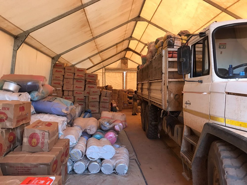 More emergency relief supplies on their way