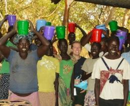 Dignity hygiene kits bring many smiles