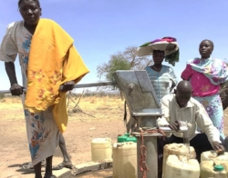 With her village borehole repaired, Samia no longer walks 3 hours to fetch water.