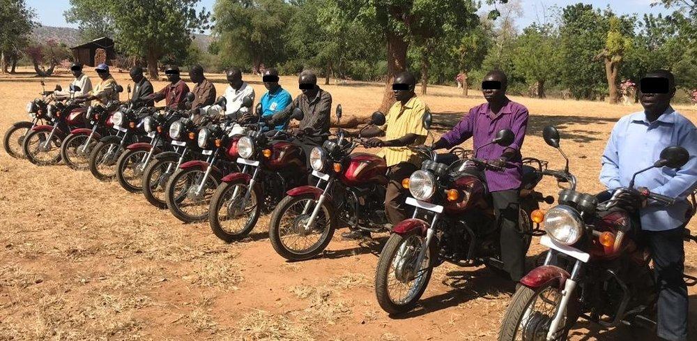 Motorbikes for Pastors