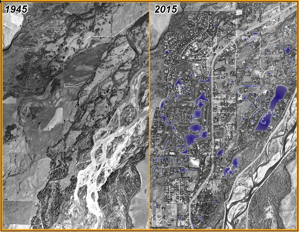 Historic aerial imagery provides valuable context for describing landscape change over time.