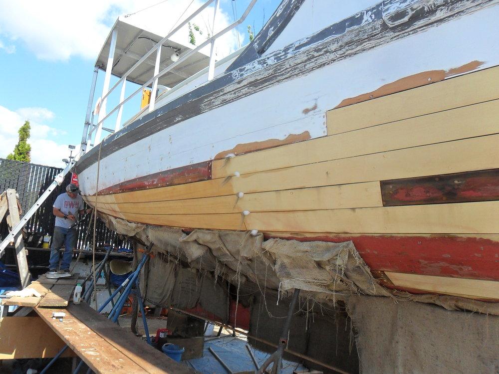 Hull Caulking